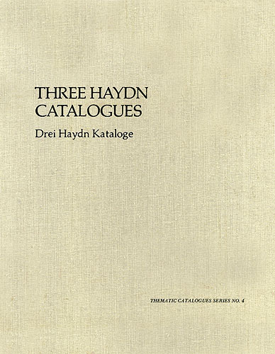 Three Haydn Catalogues