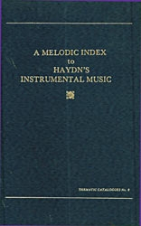 A Melodic Index To Haydn\'s Instrumental Music