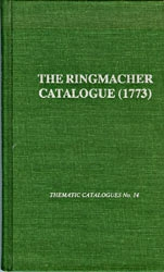 The Ringmacher Catalogue (1773)