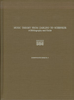 Music Theory from Zarlino to Schenker