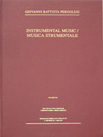Instrumental Music of G.B. Pergolesi