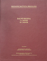 Salve Reginas of G.B. Pergolesi