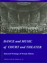 Dance and Music of Court and Theater