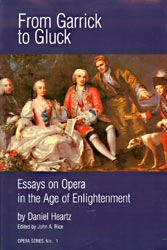 From Garrick To Gluck:Essays On Eighteenth-Century Opera