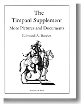 The Timpani Supplement