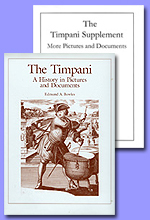 The Timpani with Supplement