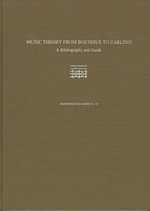Music Theory from Boethius to Zarlino