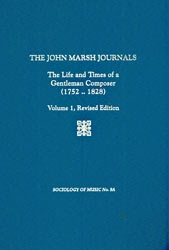 The John Marsh Journals
