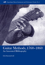 Guitar Methods  1760-1860
