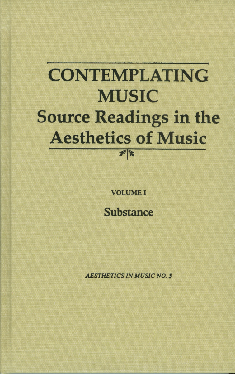 Contemplating Music (Set of 4 Volumes)