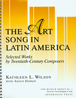 The Art Song in Latin America